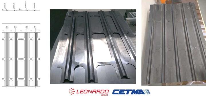 NHYTE project welded fuselage panels