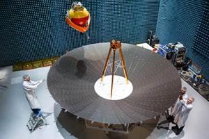 Airbus qualifies Europe's first 5-meter deployable reflector for radar satellites