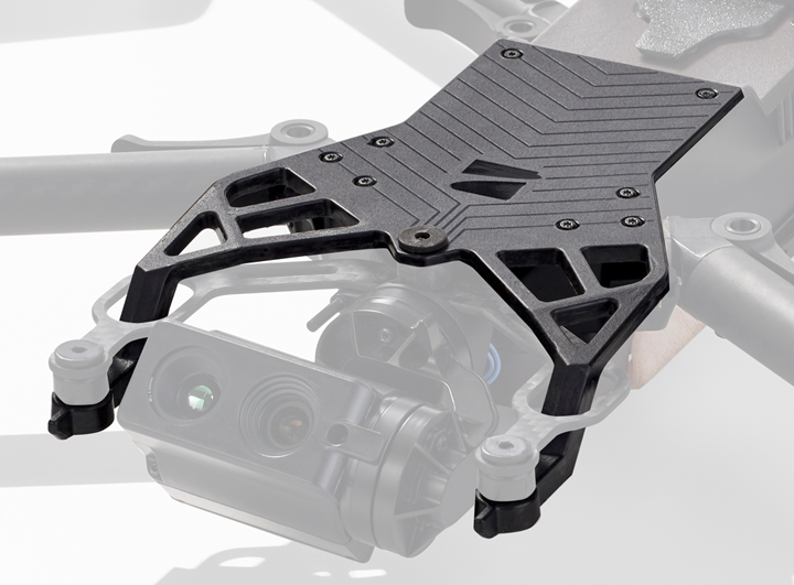 composite airframe for Skydio drone using Arris Additive Molding