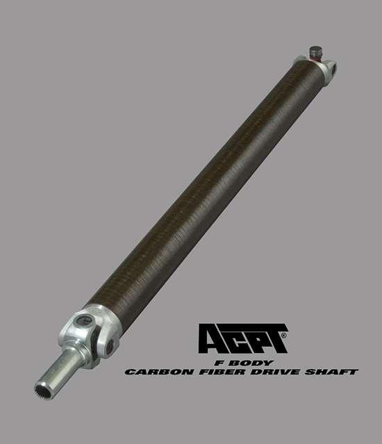 ACPT composite filament wound driveshaft