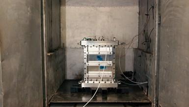 用于烤箱中复合演示器部件的树脂转移