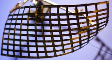 WEAV3D composite lattice forming process
