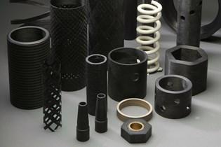 assorted composite parts