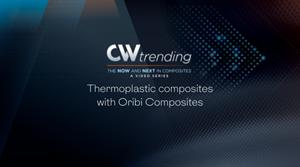 Oribi composites的热塑性复合材料:CW趋势,第4集图像