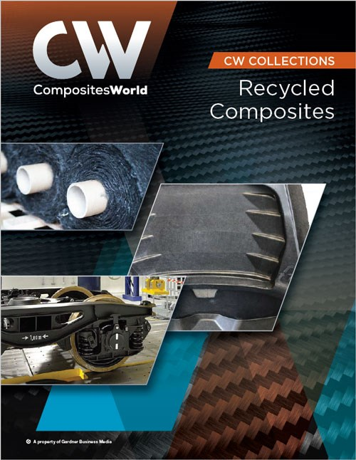 Recycled composites collection