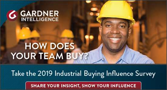 2019 Industrial Buying Influence Survey
