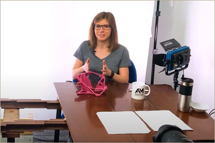 Stephanie Hendrixson, Senior Editor, Additive Manufacturing