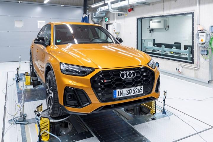 Audi audio test