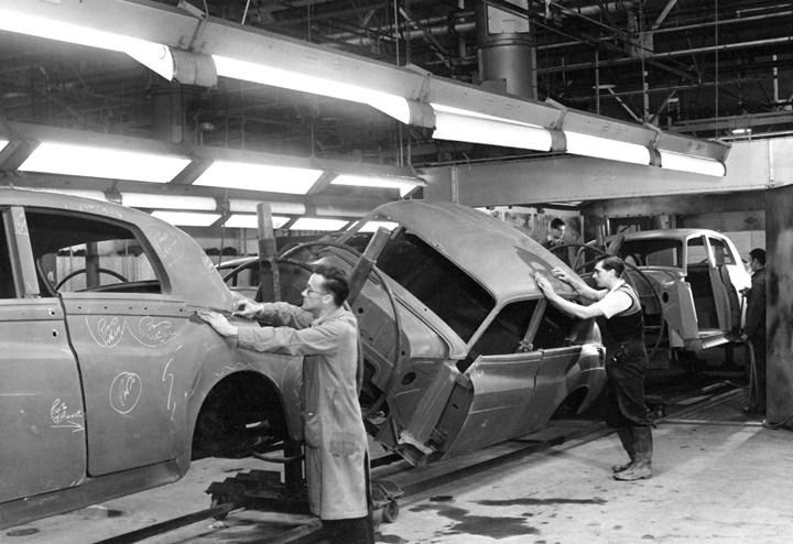 Bentley production