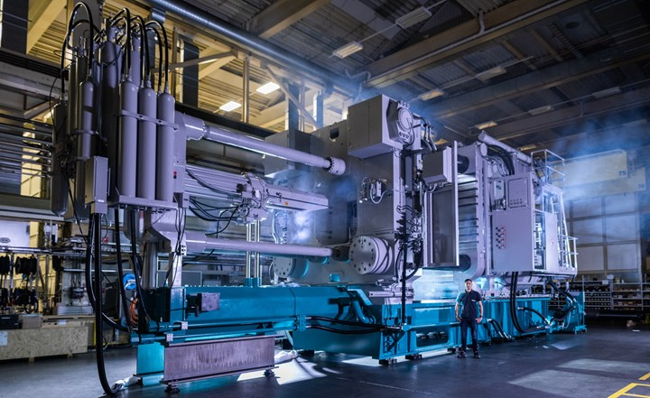 Diecasting machine