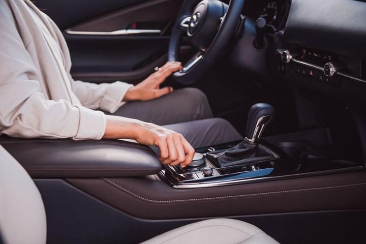 Mazda CX30 interior