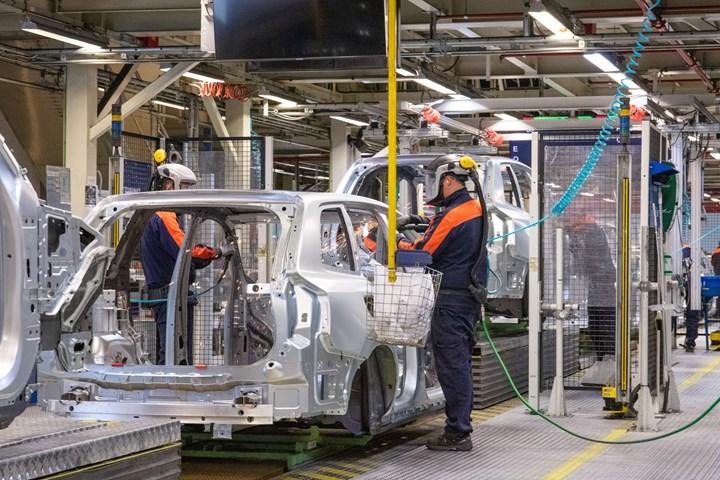 Volvo plant