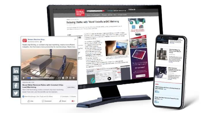 Computer Screen displaying Gardner custom content