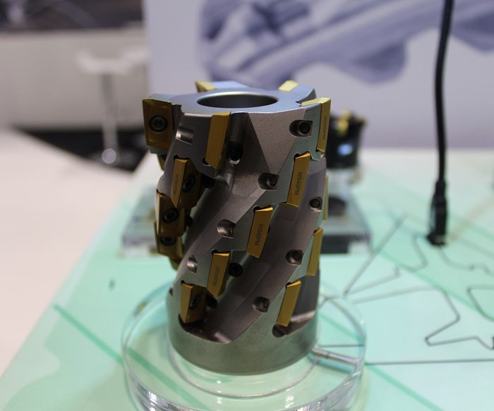Widia presenta cortador para la industria aeroespacial
