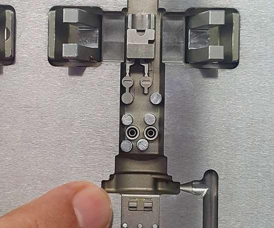 Kapco fabrica moldes para sensores, tanto para los frenos ABS, para motores, cigüeñales y árboles de levas.