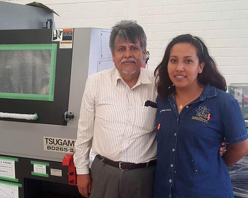 El ingeniero Eduardo Retana, director de Maquinsa, tomó la decisión de comprar el torno tipo suizo de Tsugami luego leer algunas experiencias de una empresa de Toluca en la revista de Modern Machine Shop México.