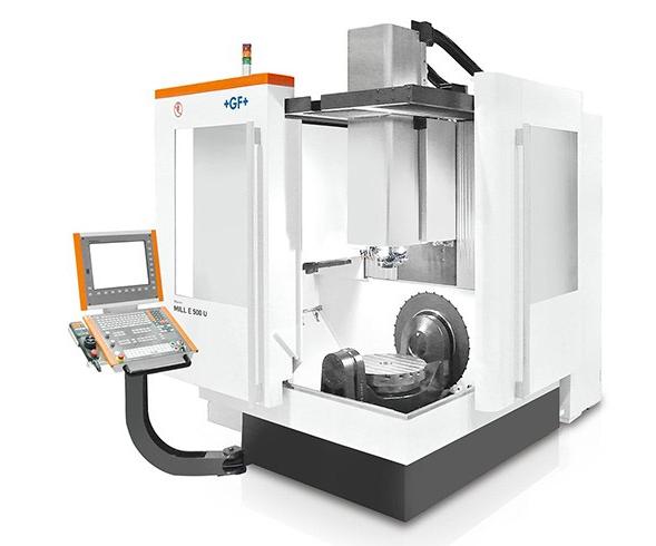 Centro de mecanizado MILL E 500 U, de GF Machining Solutions.