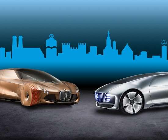 Daimler y BMW desarrollarán tecnologías conjuntas para vehículos autónomos.