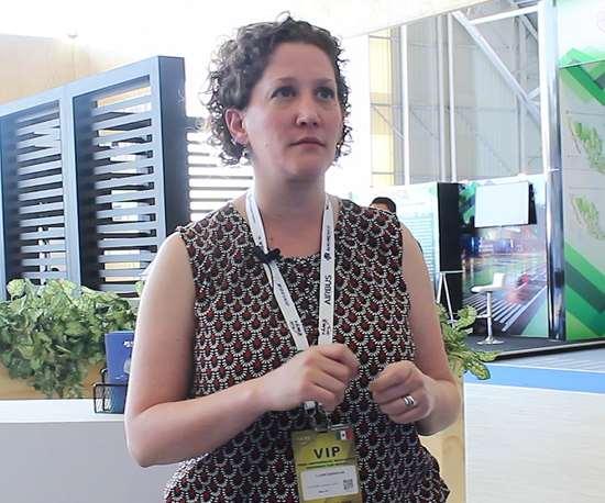 Claire Barnouin, Directora Ejecutiva del Monterrey Aerocluster.
