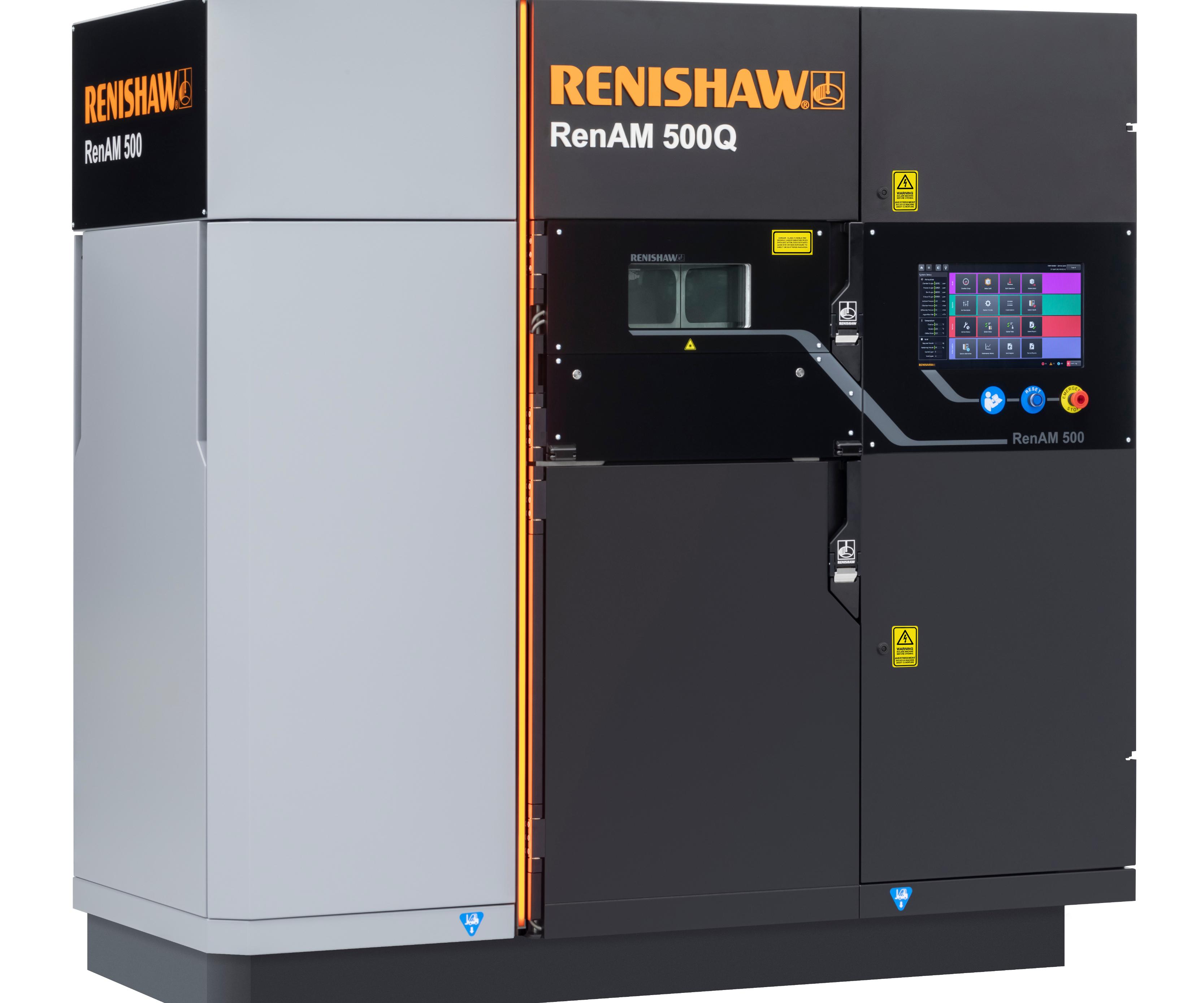 RenAM 500Q,sistema de manufactura aditiva multi-láser de Renishaw.