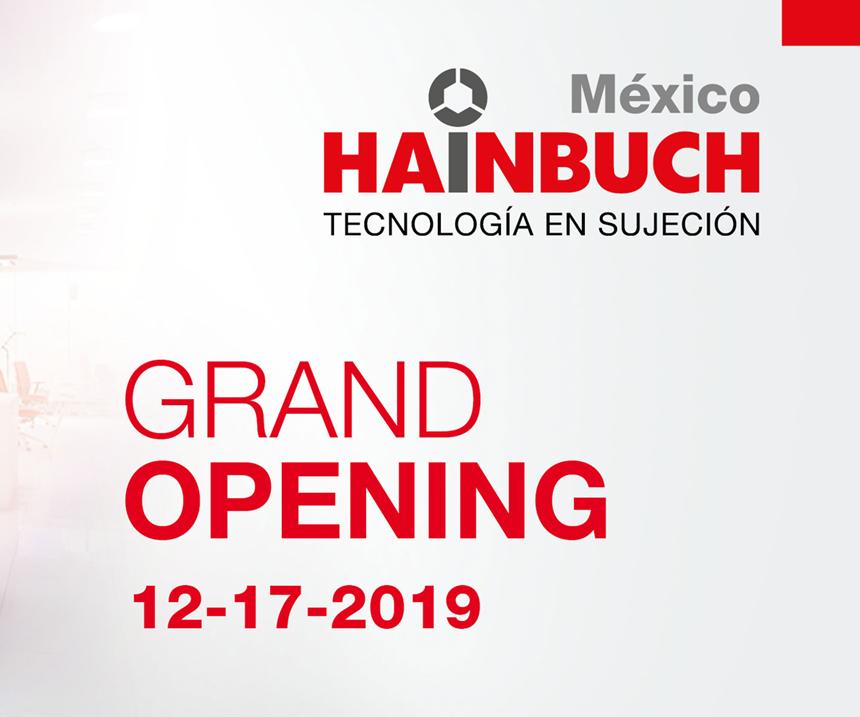Hainbuch inaugurará su nueva oficina en Celaya el próximo 17 de diciembre.
