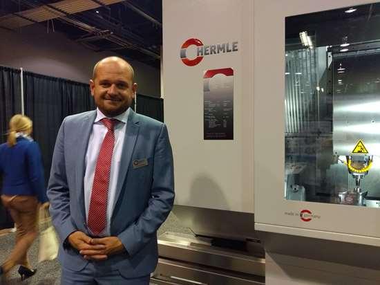 Gunther Schnitzer,presidente yCTO deHermle Machine.