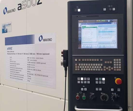 Los nuevos controles y las nuevas tecnologíasde Makinohan permitido que, pulsando un botón, se pueda llegar a todas las funciones relacionadas.