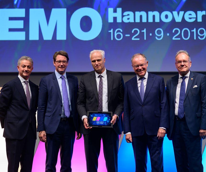 Ceremonia de inauguración de la EMO Hannover 2019.