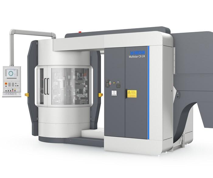 Máquinas de indexación rotativa Multistar CX-24, deMikron.
