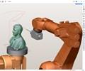 Software CAM permite la programación para el mecanizado y acabado con robots