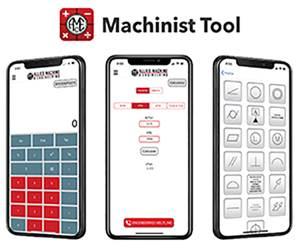 """""""Machinist Tool"""" está disponible para descargar en dispositivos iPhone y Android y está disponible en chino, inglés, francés, alemán, coreano, español y ruso."""
