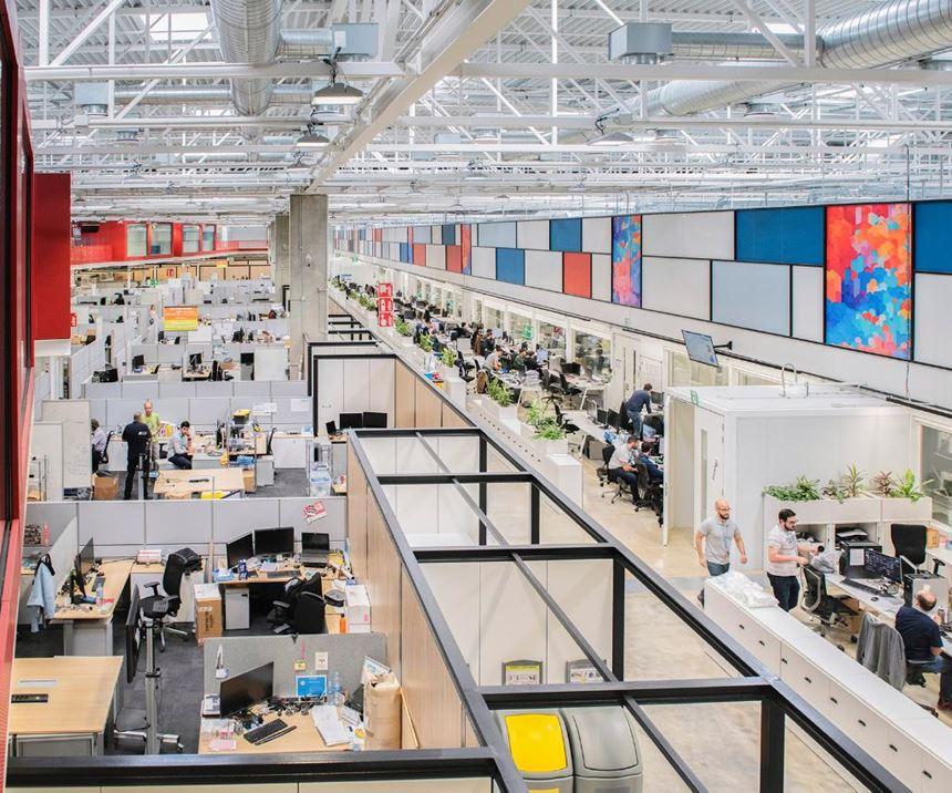 Centro de Excelencia en Impresión 3D y Manufactura Digital de HP en Barcelona, España.