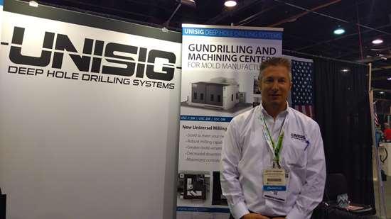 Steve Landmann, gerente de ventas de Unisig.