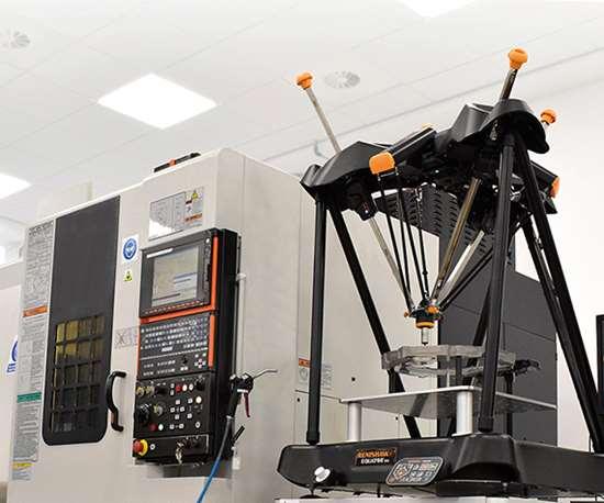 Entrelos últimos desarrollos de Renishawestán el Revo-2, el Equator 500, las máquinas de manufactura aditiva y el software InfiniAM Central.