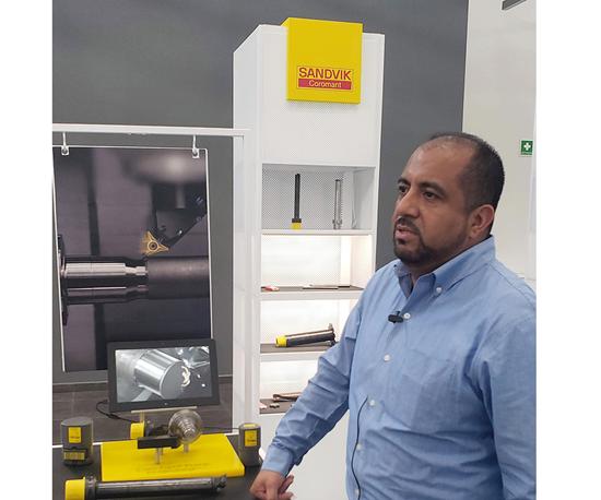 Rafael Mascareñas, Gerente de Producto en Sandvik de México.