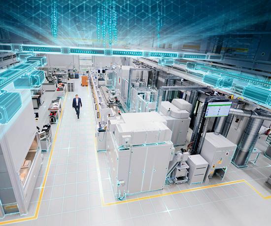 La transferencia de los datos recopilados por la app se hace a través de la plataformaMindSphere, de Siemens. Foto: Siemens AG.