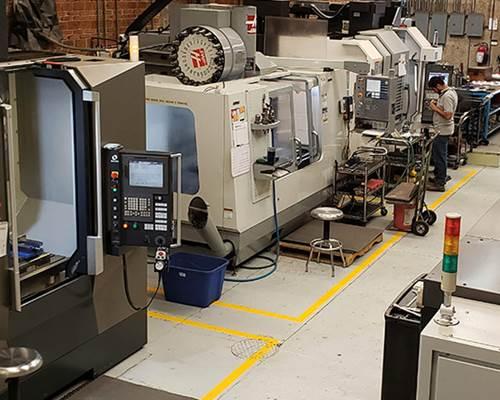 En los últimos 10 años IMAQ ha invertido en centros de mecanizado CNC de última generación.
