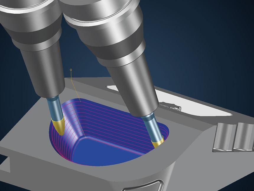 Soluciones de mecanizado trocoidal, de Tebis.