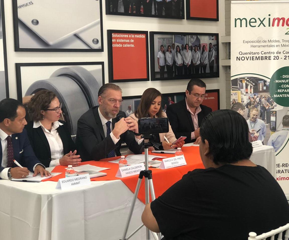 Presentación de Meximold en las instalaciones de Hasco.