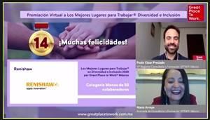 Renishaw México recibe galardón como uno de los mejores lugares para trabajar