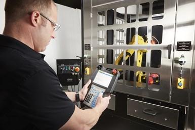 Al igual que otras operaciones de mecanizado, el bruñido se presta a la automatización robótica para aplicaciones de gran volumen.