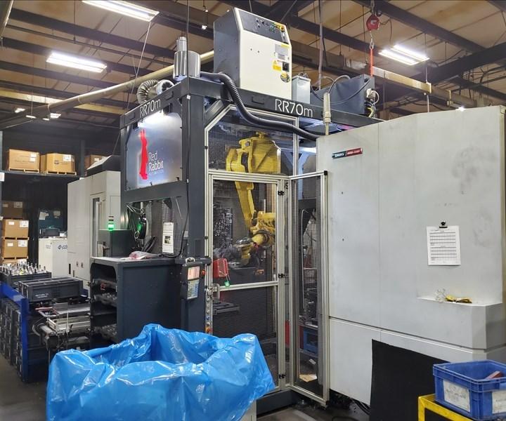 La incorporación de robots, bastidores, cajas eléctricas/de control, la mayoría de las barreras y las opciones modulares de entrada y salida en una unidad autónoma proporciona una ventaja en los nuevos proyectos de automatización.