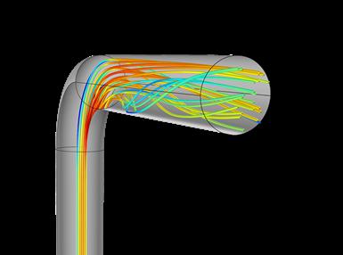 Cada giro y cambio de dirección de una red de enfriamiento conformacional enredada se traza minuciosamente para garantizar que el agua calentada por las paredes del canal se mezcle con agua más fría en el interior de la corriente.