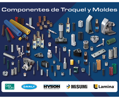 Componentes para moldes y troqueles de ACAT Mexicana.