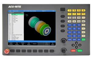 El control del Turnpwr de Acu-Rite mejora la productividad del torneado en dos ejes