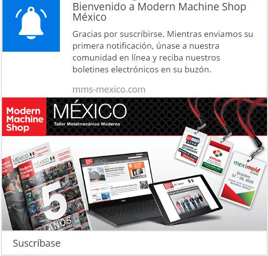 Welcome drip Modern Machine Shop México.