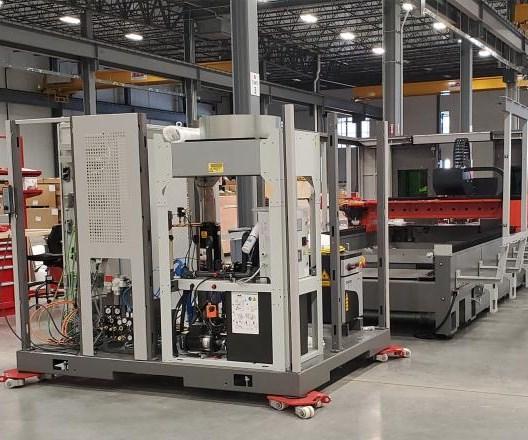 Bystronic fabricó su primera máquina de corte por láser en Estados Unidos