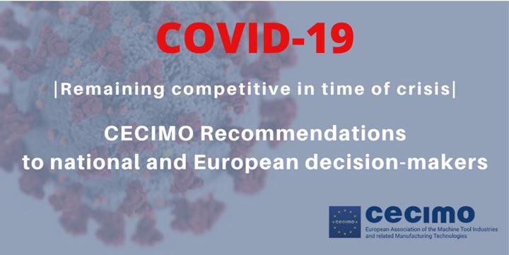 Asociación italiana de máquinas-herramienta publica recomendaciones en tiempos de COVID-19