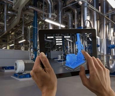 La transferencia rápida de datos 5G permite que todos los datos de producción y sensores se almacenen en un gemelo digital que contiene el historial completo de producción. Foto: Ericsson.