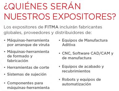 Perfil de los expositores de la Feria Internacional de Tecnología y Manufactura (FITMA)